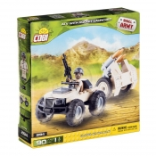Cobi Small Army ATV With Rocket Launcher 2194
