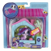 Hasbro LPS Magic Motion Deluxe Zoe In A Dog House A5127