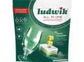 Tabletki do zmywarek LUDWIK All In One Grapefruit 80 szt. Doypack