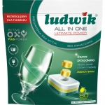 Tabletki do zmywarek LUDWIK All In One  Lemon 80 szt. Doypack