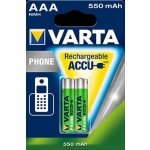 Akumulator VARTA Ready2Use AAA Micro Ni-Mh 550mAh HR03 (2 szt)