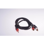 Kabel LIBOX HQ LB0023 Jack 3.5-2RCA 3m