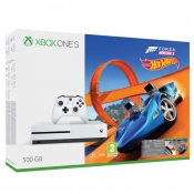 Konsola MICROSOFT Xbox One S 500GB + Gra Forza Horizon 3 + dodatek Hot Wheels
