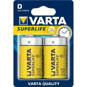 Baterie VARTA Superlife D R20 (2 szt)