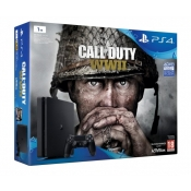 Konsola SONY PS4 Slim 1TB + Gra Call Of Duty WWII